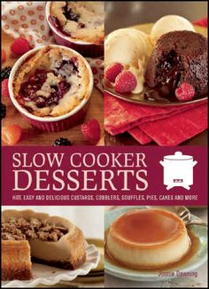 Slow Cooker Dessert Recipes