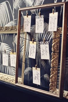 #vintage #frames Photography by khakibedfordweddings.com  Read more - http://www.stylemepretty.com/2013/08/22/black-gold-inspired-photo-shoot-from-khaki-bedford-photography-jonica-moore/