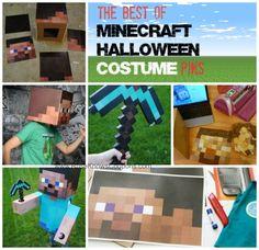 Best of DIY Minecraft Halloween Costume Pins- What Rose Knows