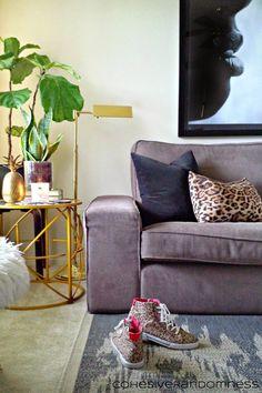 CohesiveRandomness: Living Room: Kivik Sofa