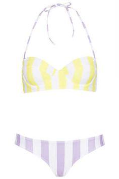 Lemon Ice Cream Push Up Bikini #topshop