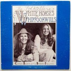 The Folktellers - White Horses and Whippoorwills LP Vinyl Record Album,  Mama-T Artists - MTA-1,  Folk, Spoken Word 1981, Asheville NC