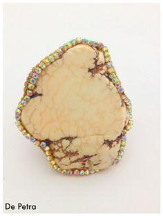 De Petra White Cobbler ring by cynthiasheridan on Etsy, $138.00