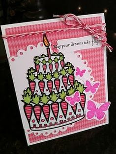 Card by Jessica Davis.  digital image @ http://www.amberink.com/products/love-bunny-grown-up-cake