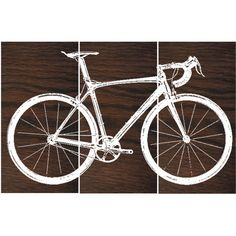 Road Bike Street Bike Wall Art Bicycle Screen Print Wood Painting Wall... (3 350 UAH) ❤ liked on Polyvore featuring home, home decor, wall art, dark olive, home & living, home décor, bike painting, rectangular wall art, wooden wall art and bicycle painting