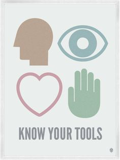 Know Your Tools Print | My Little Underground