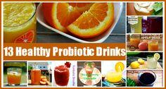 13 Healthy Probiotic Drink Recipes