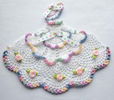Victorian Theme Crinoline Lady Hand Crochet Doily by designedbyl Crochet Dollies, Crochet Art, Thread Crochet, Crochet Flowers, Hand Crochet, Free Crochet, Doll Patterns, Crochet Patterns, Lace Doilies