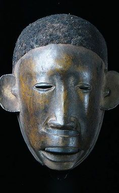 tribal face masks   African Mask - Makonde face with lip plug, ...   Global, Tribal and A ...