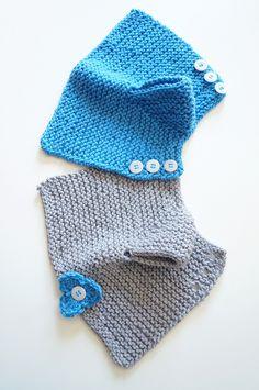 Crochet Beanie Pattern, Baby Knitting Patterns, Free Knitting, Knit Crochet, Crochet Hats, Knitted Baby Cardigan, Knitted Bags, Diy Crafts Knitting, Garter Stitch