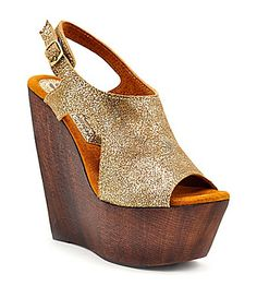 Sbicca Studio Glitter Wedges oh my in love