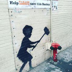 Banks art in the City     #art #newyork #sogood #travel #lifestyleblogger #artist #banksy #city #photography #explore #artinthecity #travelblogger #lifeloveflowers #newyorkcity #usa #america
