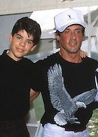 Photo Must Be Credited ©Alpha Press 003 (Date Unknown).Sylvester Stallone and his son Sage Stallone at an event in Palm Beach, Florida Sage Stallone, Sylvester Stallone, Palm Beach, Sons, Writer, Florida, Handsome, Dating, Actors