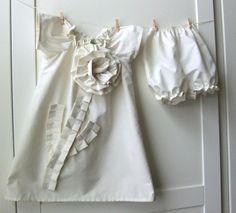 Handmade white dress