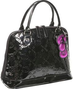 Loungefly Hello Kitty Black Embossed Bag Black - via eBags.com!