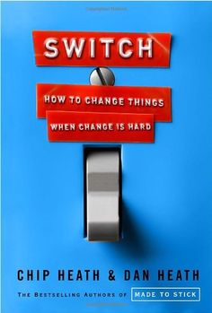Switch: How to Change Things When Change Is Hard by Chip Heath http://www.amazon.com/dp/0385528752/ref=cm_sw_r_pi_dp_ejXJwb0FYRG98