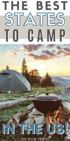 These are the top 5 family travel destinations for camping. You'll love these 5 best states to camp in with kids. Travel to these spots in the US for budget friendly camping that will top your bucket lists. If you're looking for fun and cheap camping destinations in the USA, these are your best bet! #camping #campingtrip #family #familytravel #familyvacation #vacationideas #vacationdestination #campingtips #campinghacks #familyfun Beach Camping, Go Camping, Family Vacation Destinations, Travel Destinations, Travel With Kids, Family Travel, Yellowstone National Park, National Parks, Yellowstone Hot Springs