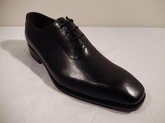 Pinnacle of Hand Craftsmanship Black Dress Shoe