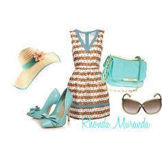 Teal, created by rhonda82 on Polyvore
