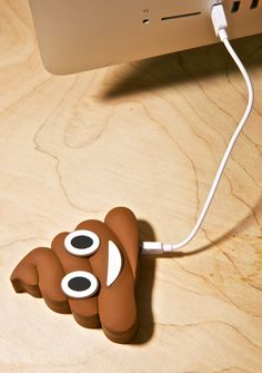 Poop Emoji Power Bank