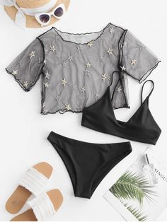 Girls Fashion Clothes, Teen Fashion Outfits, Trendy Outfits, Summer Outfits, Cute Outfits, Swimwear Fashion, Bikini Swimwear, Mode Du Bikini, Bikini Outfits