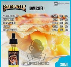Premium E-liquids straight from the manufacturer Diy Vape Juice, Vape Diy, E Juice Recipe, Recipe List, Vape Facts, Clone Recipe, Vape Smoke, E Liquid Flavors, Vanilla Custard