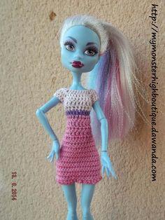 Vestido para Monster High v305 de My Monster High boutique por DaWanda.com