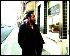 Marvin Gaye in Oostende, Belgium. Oostende, the place where he recorded Sexual Healing