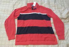 #POLO SPORT Ralph Lauren men long sleeve size M rugby shirt stripes NWT RalphLauren visit our ebay store at  http://stores.ebay.com/esquirestore