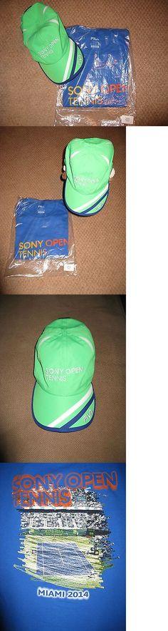 Tennis 430: Memorabilia - Miami Open Sony Open Tennis 2014 Fila Baseball Hat And Xs T-Shirt -> BUY IT NOW ONLY: $35 on eBay!