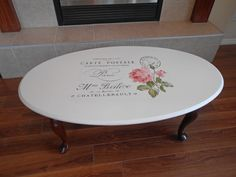 Today's reader feature is this beautiful French Roses Table, submitted by our friend Laura Stegeman.  Laura purchased this table at a thrift store for only $8, and decided that it needed a makeover.  She first sanded the whole table, applied a thin coat of Ultra Grip, and then painted 2 coats of Fusion Concealer.  Next,...Read More »