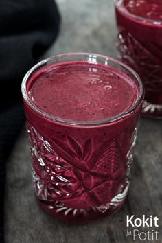 Mustikkainen kefirsmoothie - Kefir Smoothie w/blueberries | Kokit ja Potit…