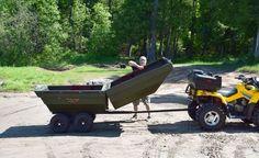 remorque multi-usage & barque à moteur