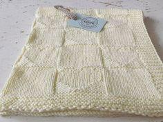 Baby Blanket PDF pattern Vanilla Blossom babby by Portobelloknit