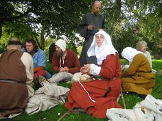 Weary Pilgrims at rest | Flickr - Photo Sharing! 15thc
