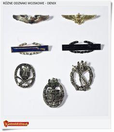 Repliki odznak z okresu II Wojny Światowej