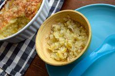 Cheese, leek and potato bake