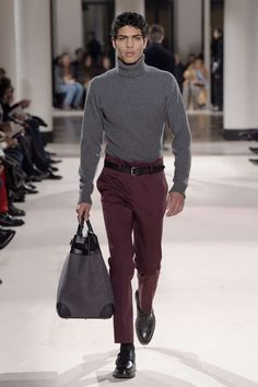 Male Fashion Trends: Hermès Fall-Winter 2017 - Paris Fashion Week