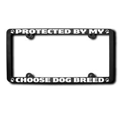 Protected By My Choose Breed of Dog Do-En by JamesReidDesign