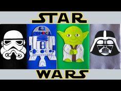Decora tus cuadernos de STAR WARS! Manualidades con goma eva o foami- Mery - YouTube