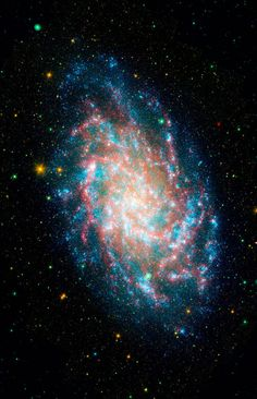 M33, one of our closest galactic neighbors, is about 2.9 million light-years away in the constellation Triangulum, part of what's known as our Local Group of galaxies.