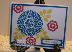 Stampin Ups Betsy's Blossoms Stampin Ups Hostess Special