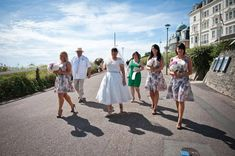 Tabitha and Daniel's wonderfully relaxed seaside wedding