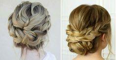 Peinados recogidos con trenza para ocasiones especiales, ¡no te lo pierdas!