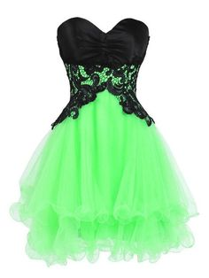 Princess Sweetheart Organza Short/Mini Tiered Nice Homecoming Dresses #DGD020102562