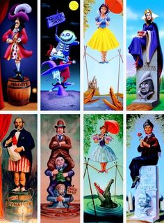 Haunted Mansion Stretching Room - Disney Characters