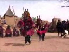 Youtube video of African Mask Dance ritual. No commentary