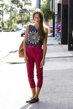 High Wasted pants.