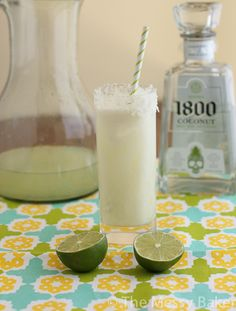 Lime in the Coconut Margarita