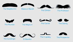 What moustache are you?